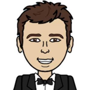 Image of Luciano Marisi in cartoon emoji style