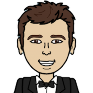 Image of Luciano Marisi in cartoon emoji style